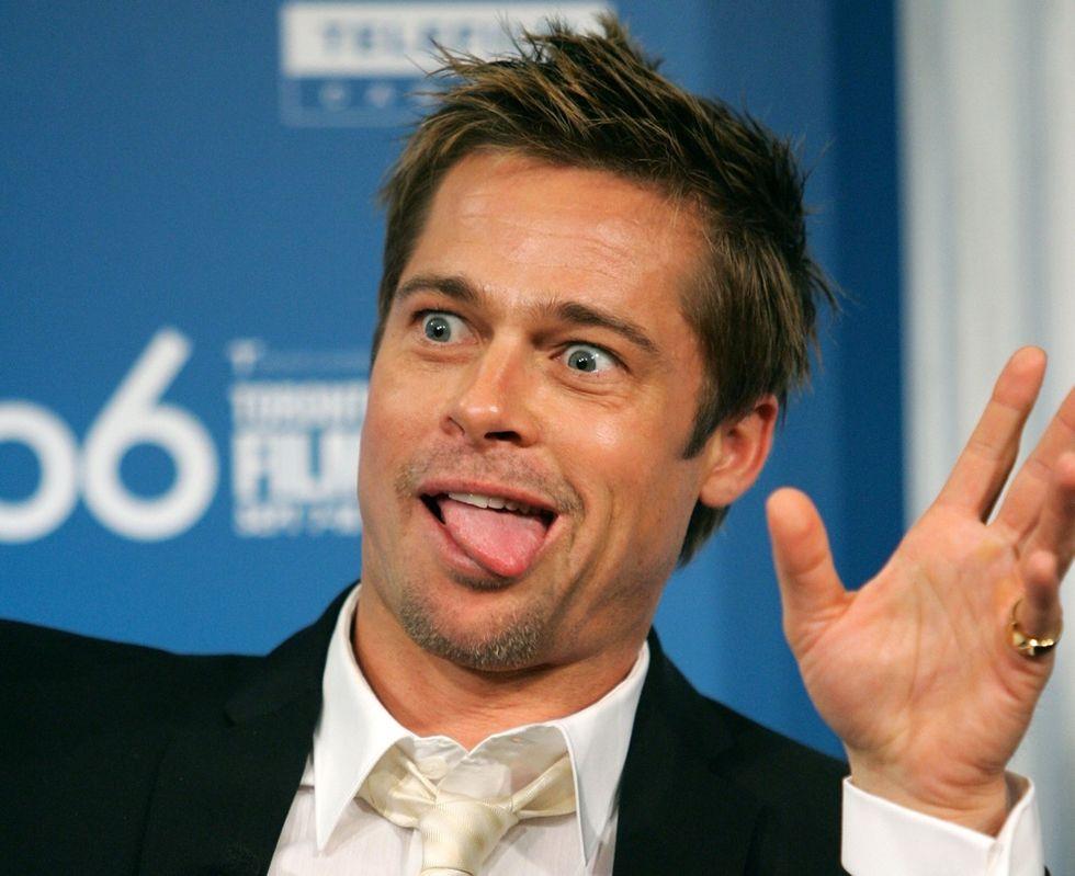 Brad Pitt dice no ai ragni nella dieta dei figli