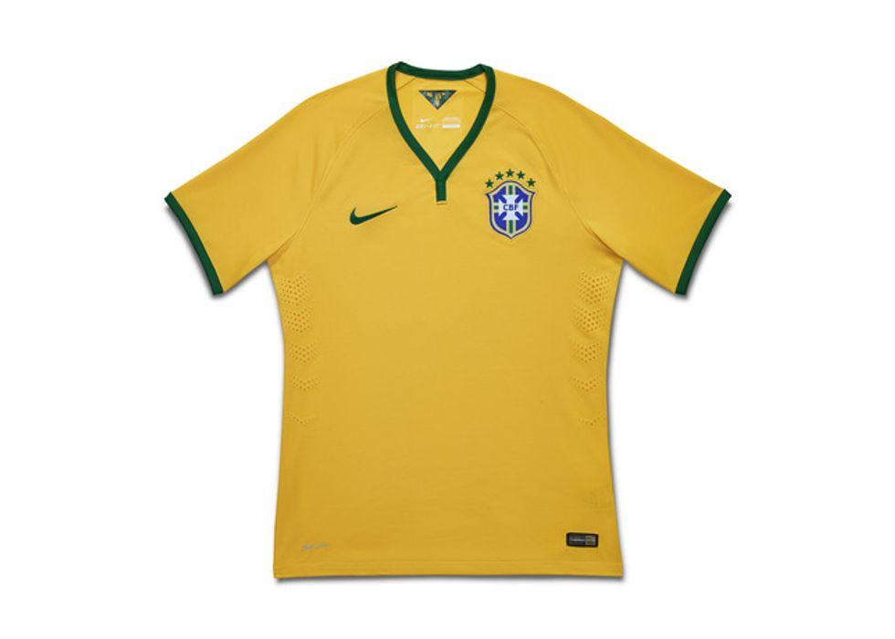 Le maglie del Brasile dal 1996 ai Mondiali 2014