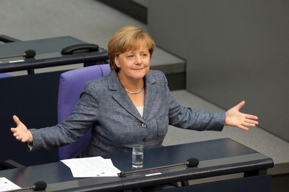 Bundestag-Merkel