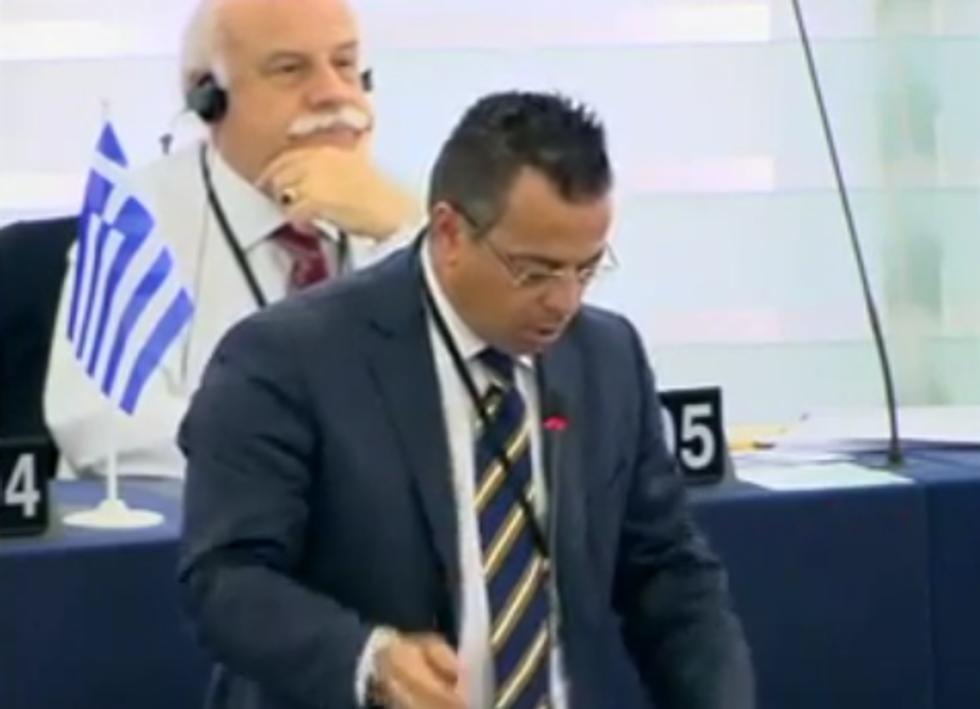 Buonanno al Parlamento europeo
