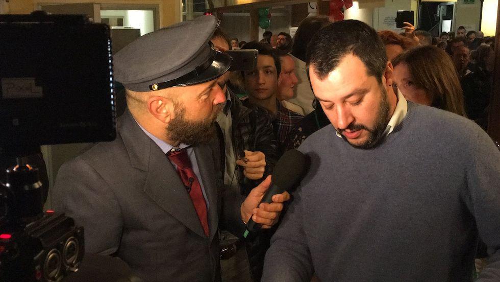 C'è posta per te Matteo Salvini