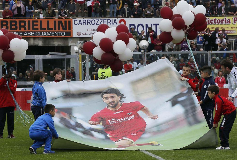 Calcio: Livorno ricorda Piermario Morosini