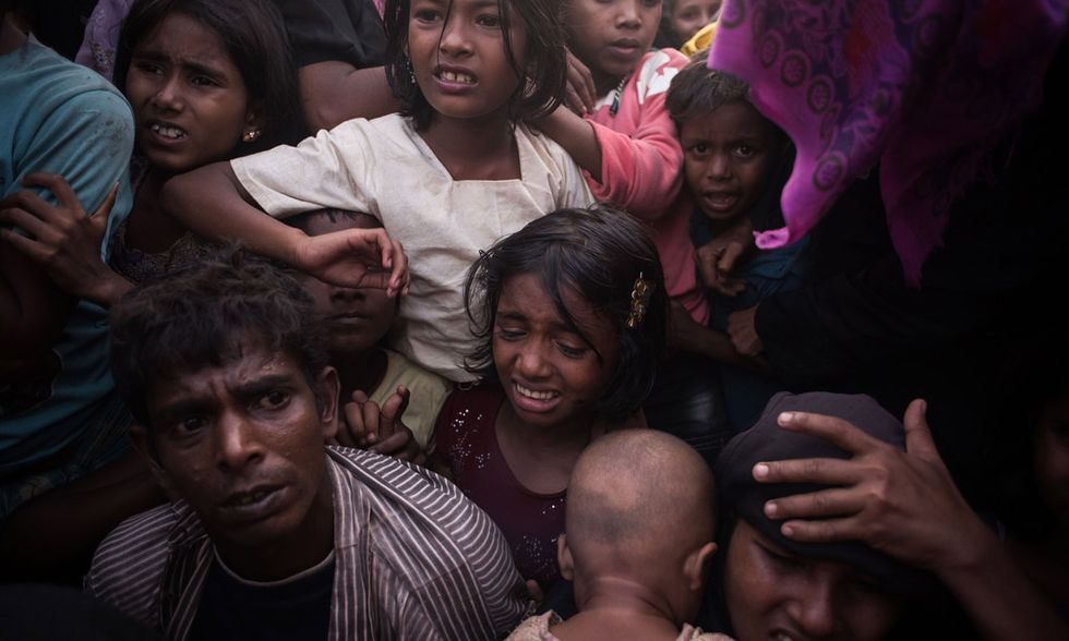 Campo profughi Rohingya