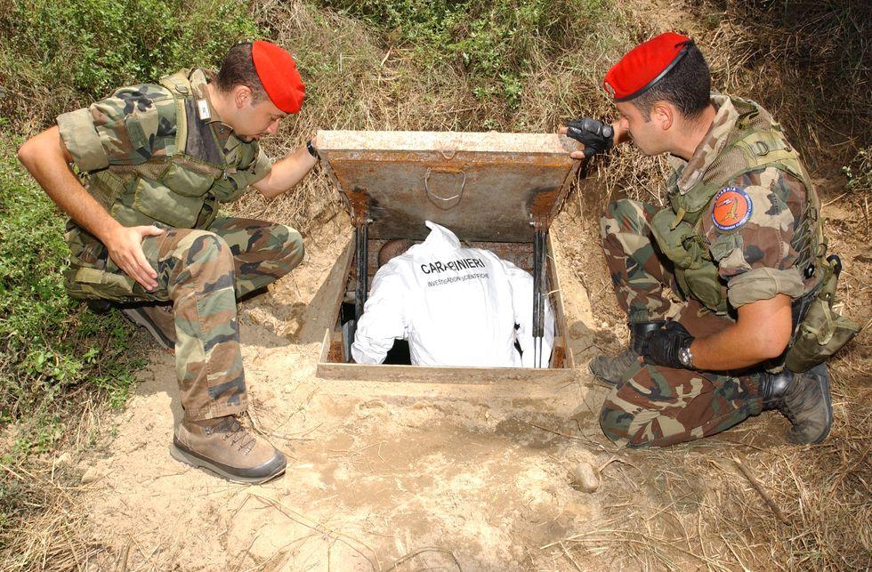 carabinieri cacciatori boss calabria