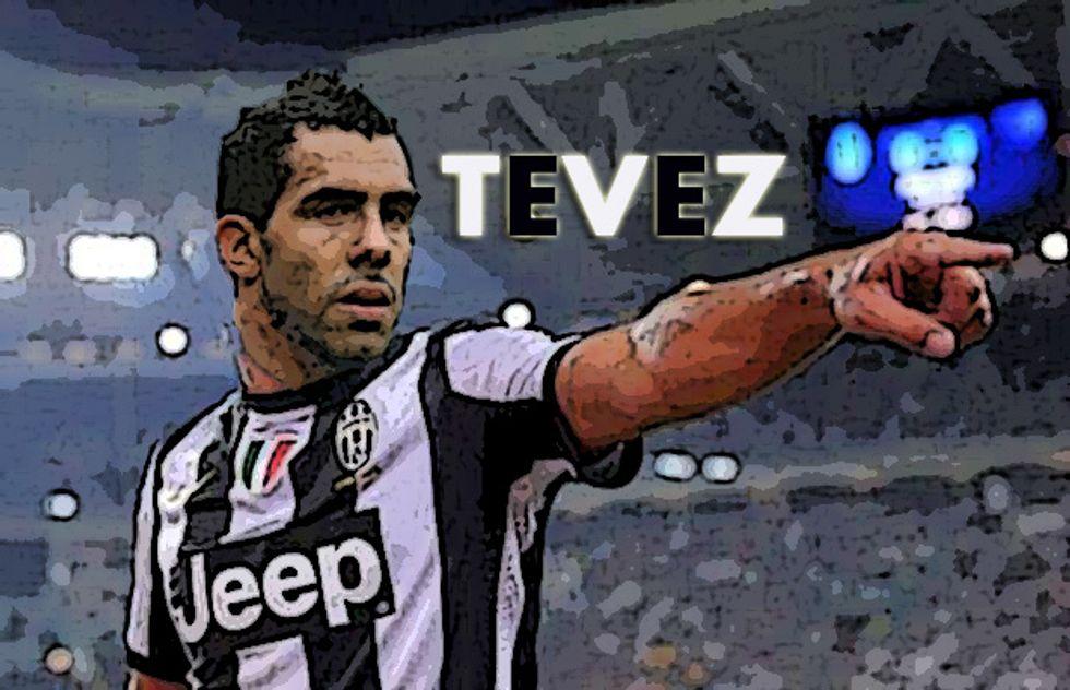 L'Apache della Juventus: chi è Carlos Tevez?