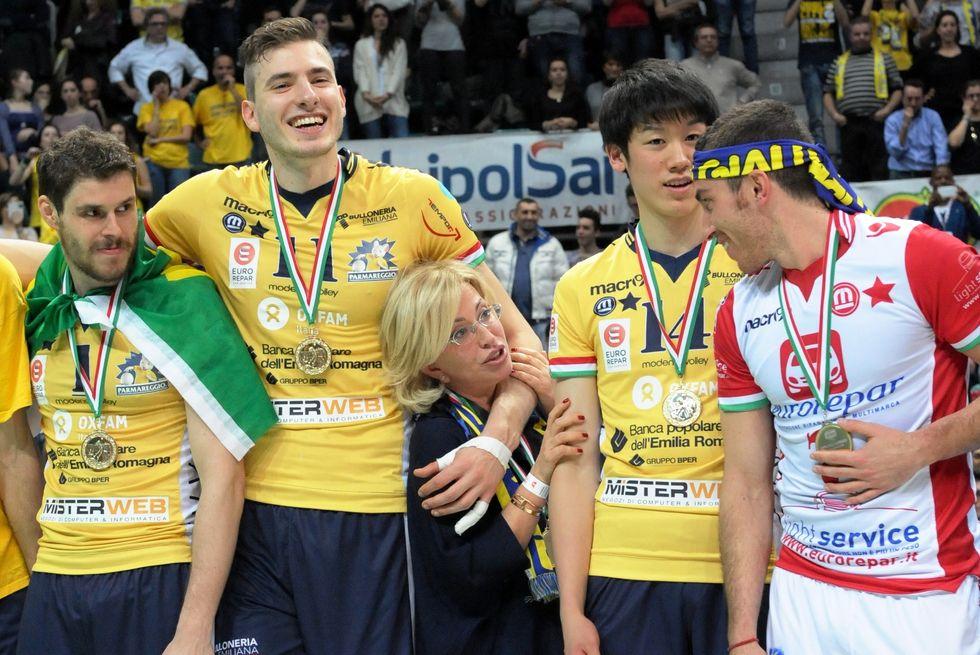 Il Modena Volley, la Coppa Italia e una presidente che non le manda a dire