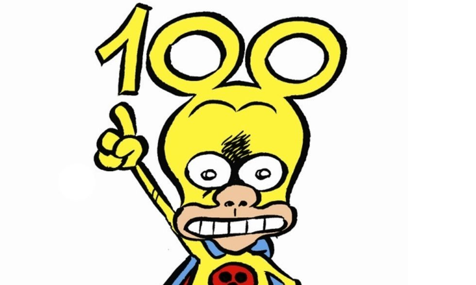 100 di questi numeri, Rat-Man!
