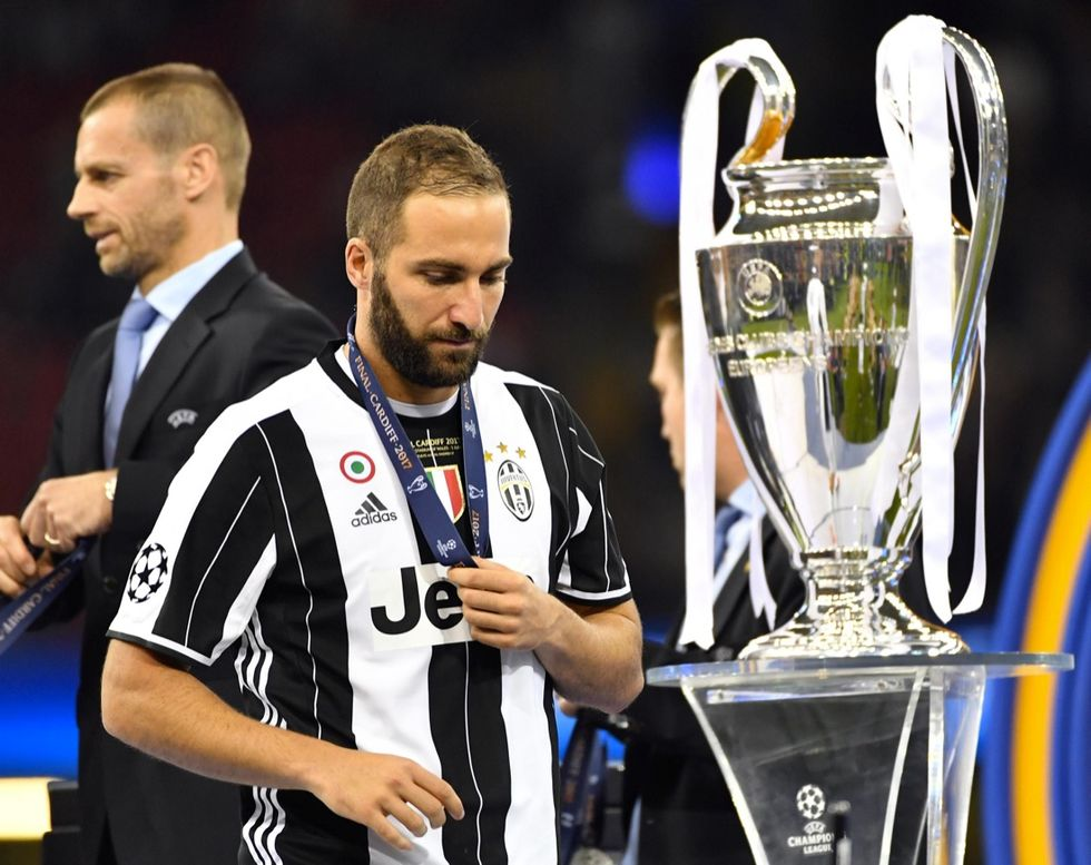 Champions League Final; Juventus-Real Madrid