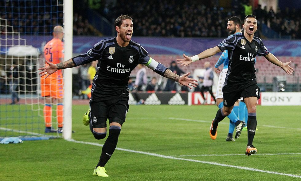 Champions League: Napoli - Real Madrid