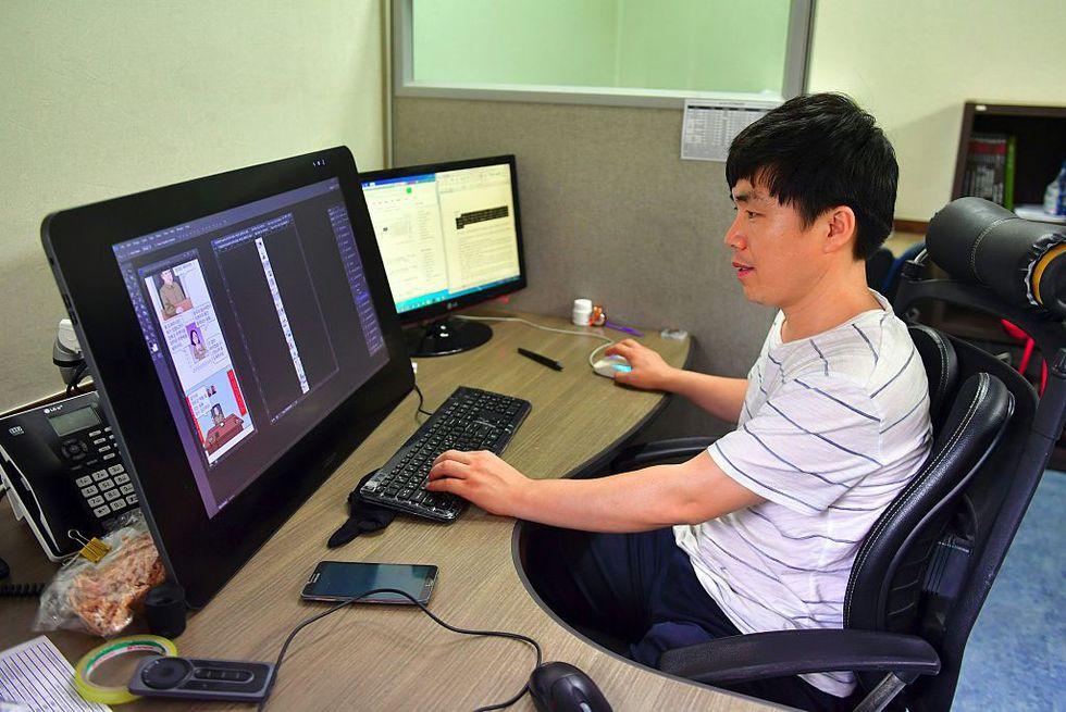 Choi-Sung-Guk-fumettista-corea-del-nord