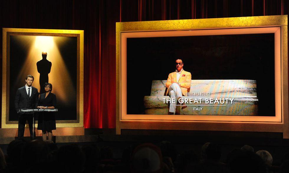 Oscar 2014, con La grande bellezza l'Italia punta a superare la Francia