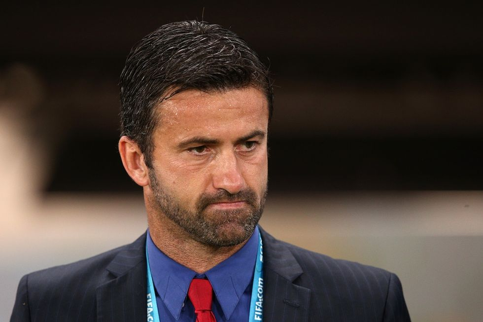 Christian Panucci è il nuovo allenatore del Livorno