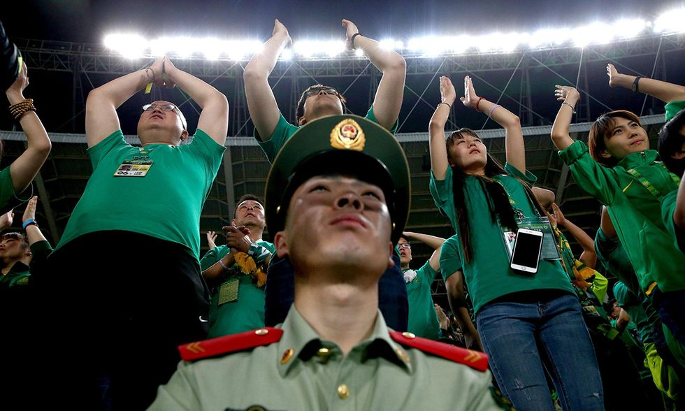 Cina, la cultura del calcio