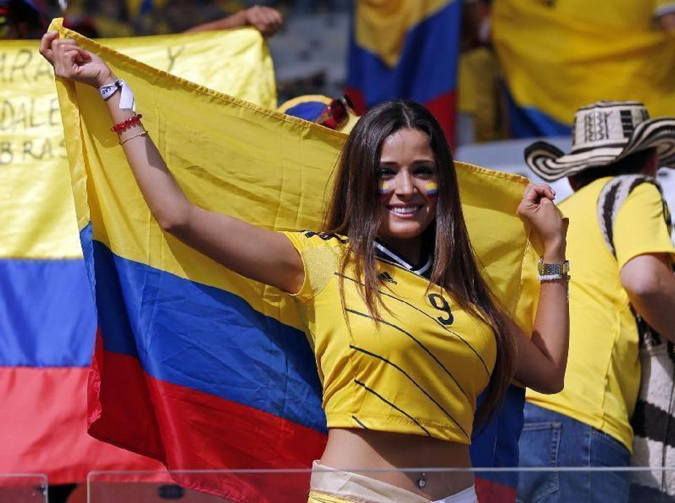 Le tifose più belle del mondiale - FOTO