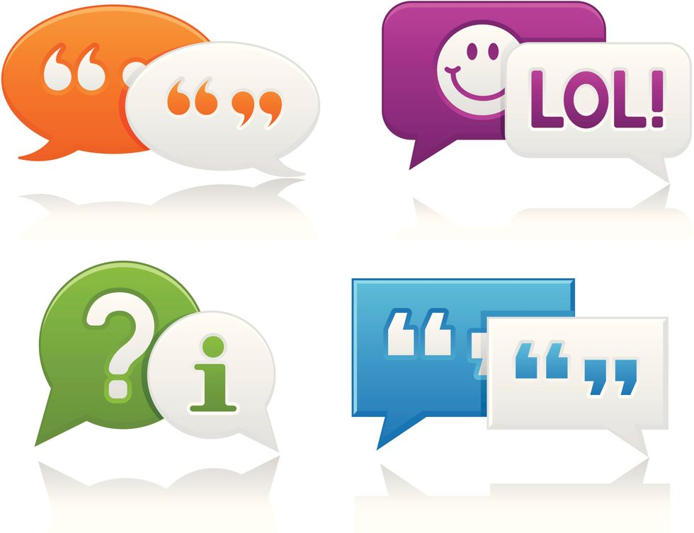 Emoticon, smile, faccine e punti: ecco cosa significano