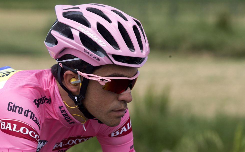 Giro d'Italia: Contador rimane in gara