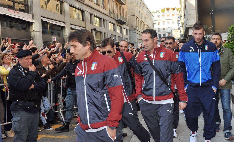 Conte a Torino, il grande gelo. Niente esaurito per Italia-Inghilterra