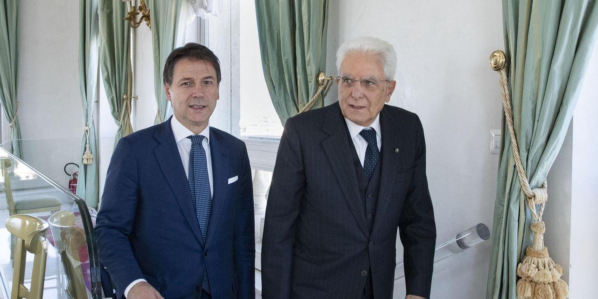 Conte Mattarella crisi di governo