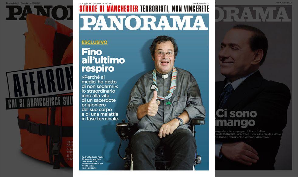 copertina cover panorama n. 23/17