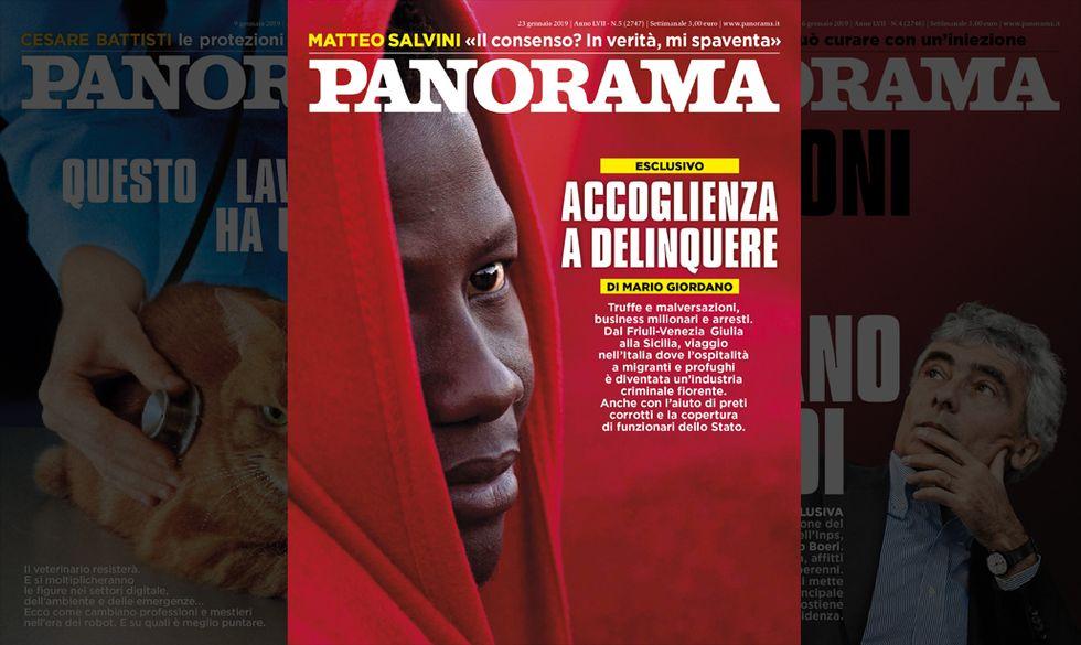 copertina Panorama 23 gennaio
