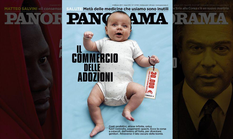 copertina Panorama adozioni 6 febbraio