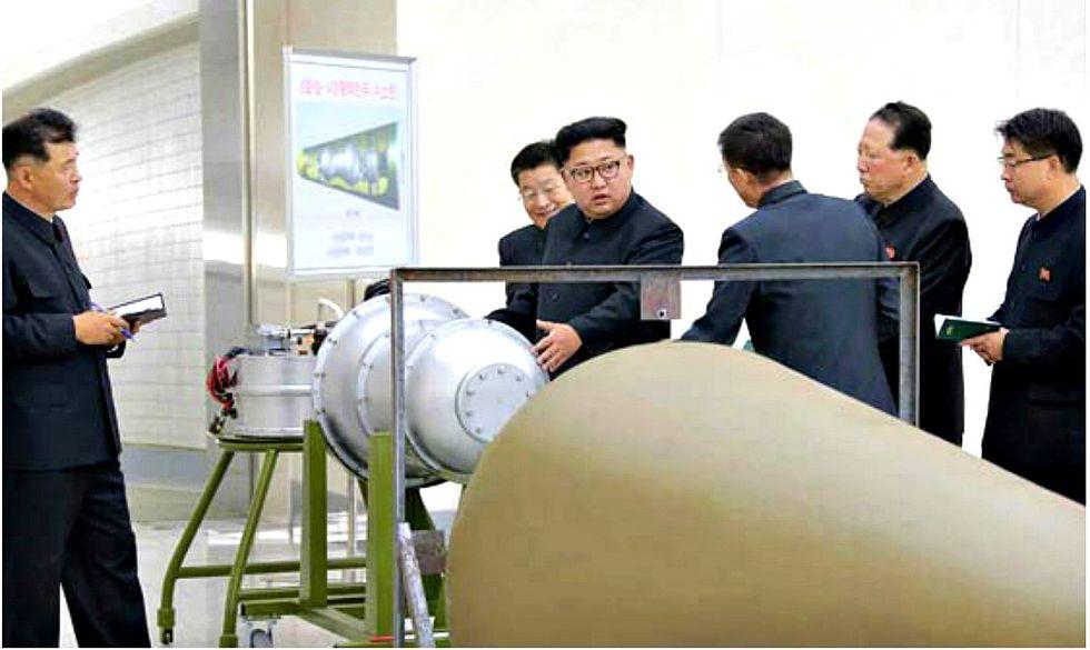 corea del nord bomba H