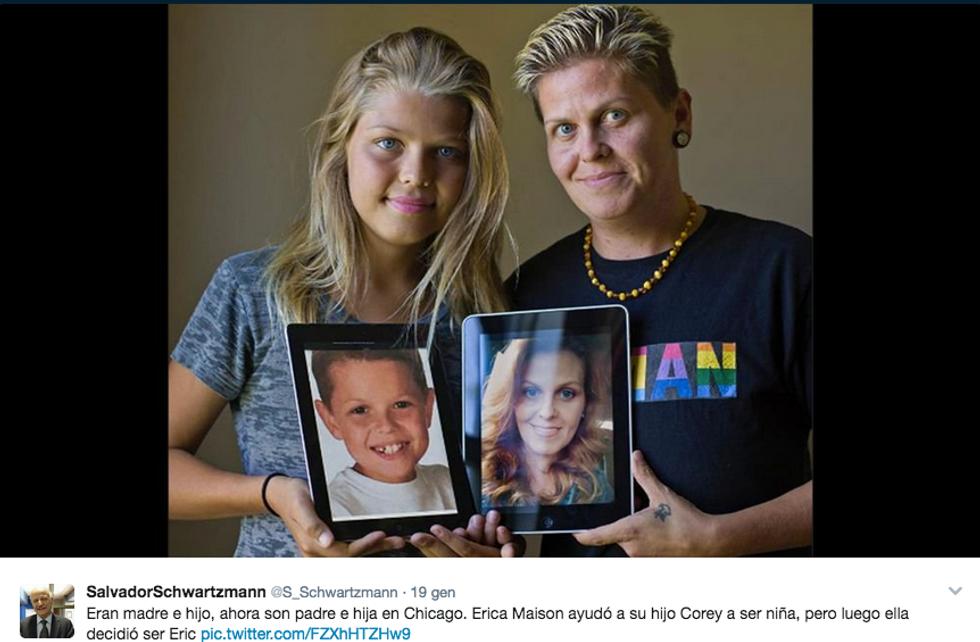 Corey e Erica Maison hanno cambiato sesso lo stesso giorno