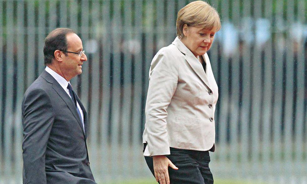 Quanto poco resta dell'asse franco-tedesco