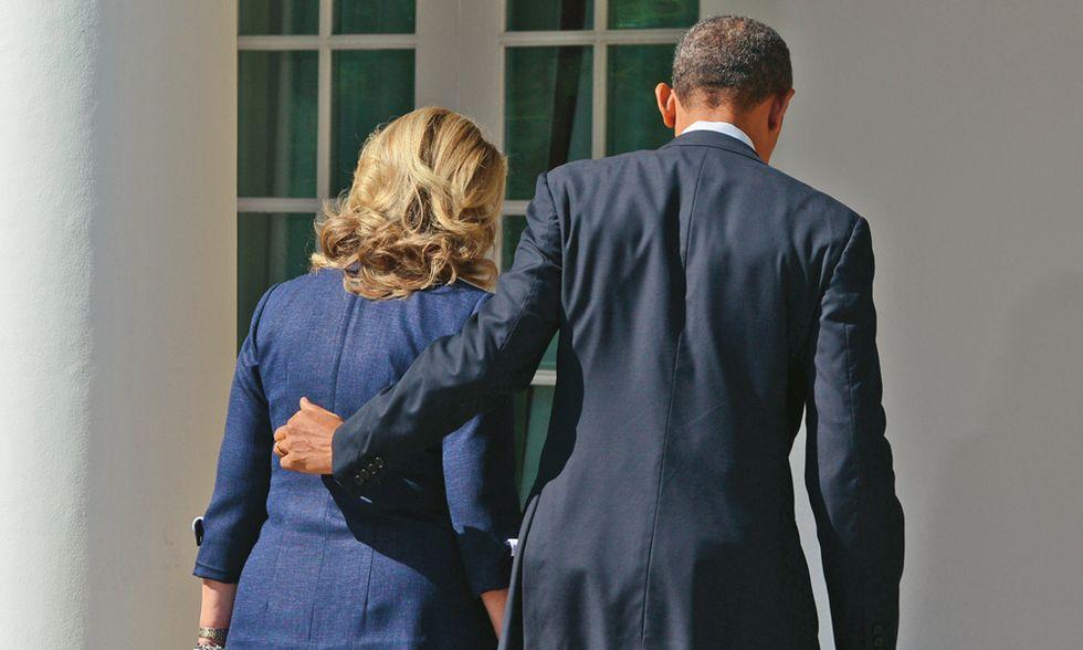 Hillary Clinton torna in famiglia per prepararsi alla Casa Bianca