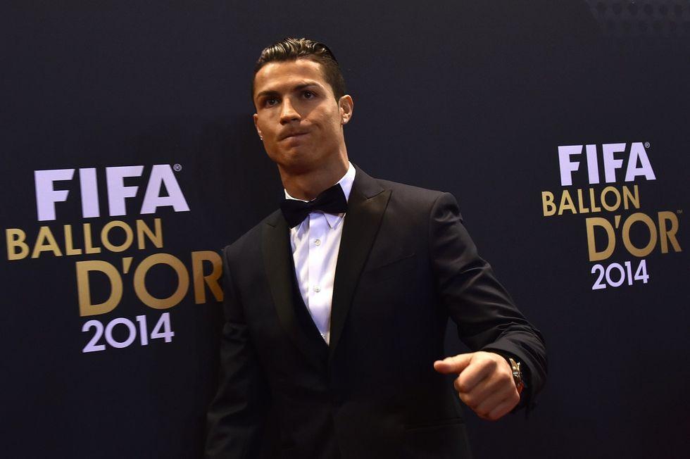 Cristiano Ronaldo ha vinto il Pallone d'oro 2014