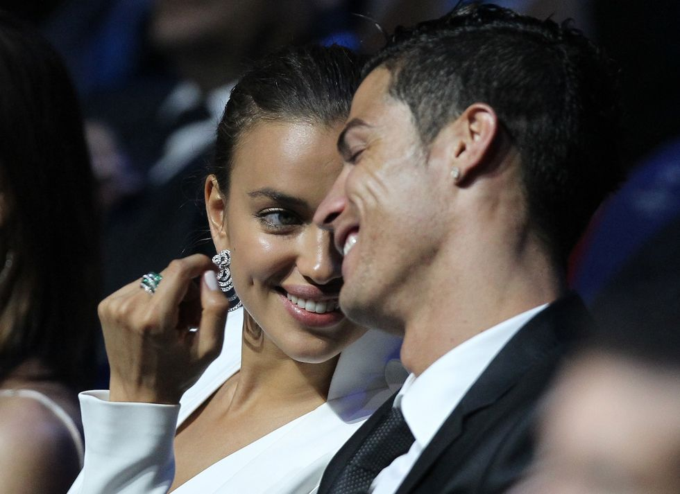 """Cristiano Ronaldo: """"Addio Irina, preferisco la mamma"""""""