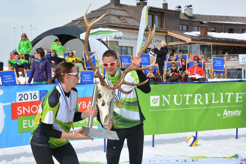Snow Volley: Cicolari-Toti vincono il primo titolo europeo