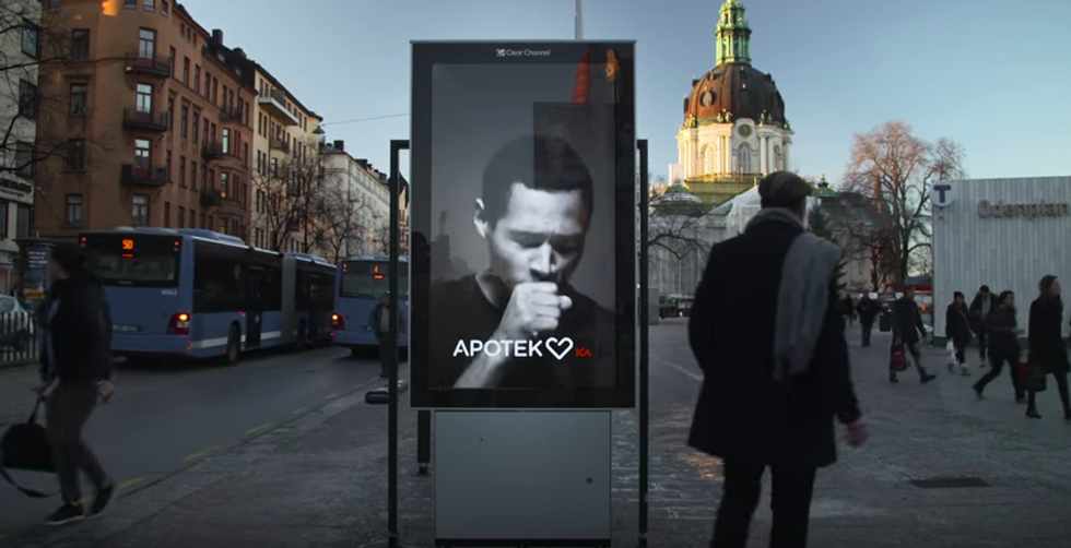 Dalla Svezia i cartelloni che tossiscono