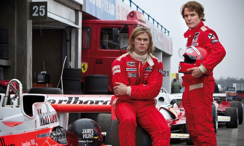 Rush, il film sulla leggendaria sfida tra Niki Lauda e James Hunt - Trailer