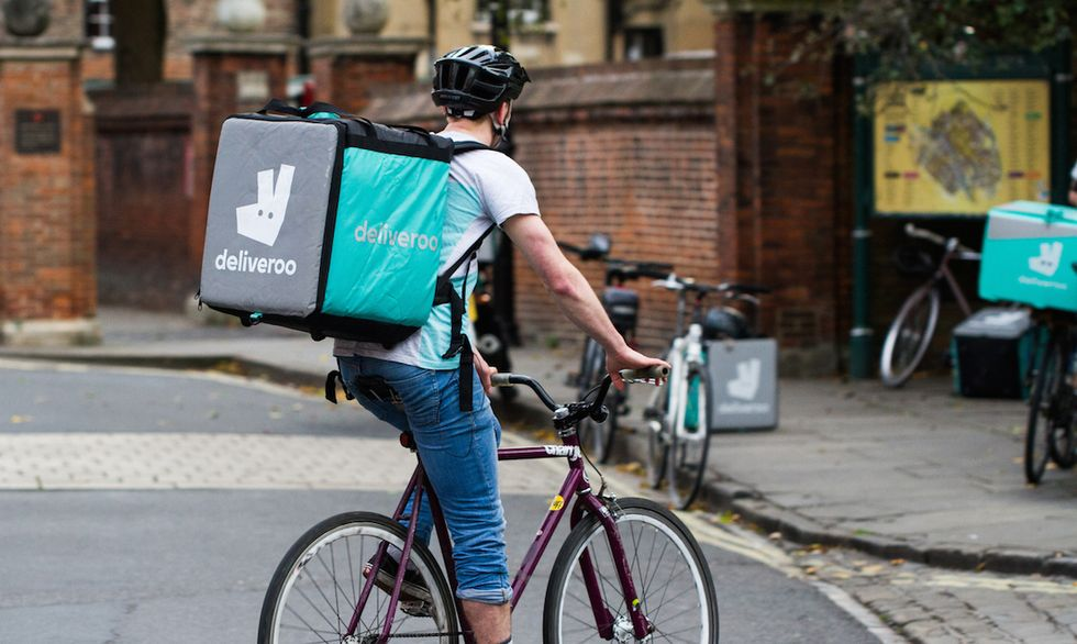 Deliveroo Ciclista