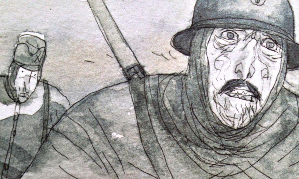 Gipi torna al fumetto con 'unastoria' intimista di guerra e follia