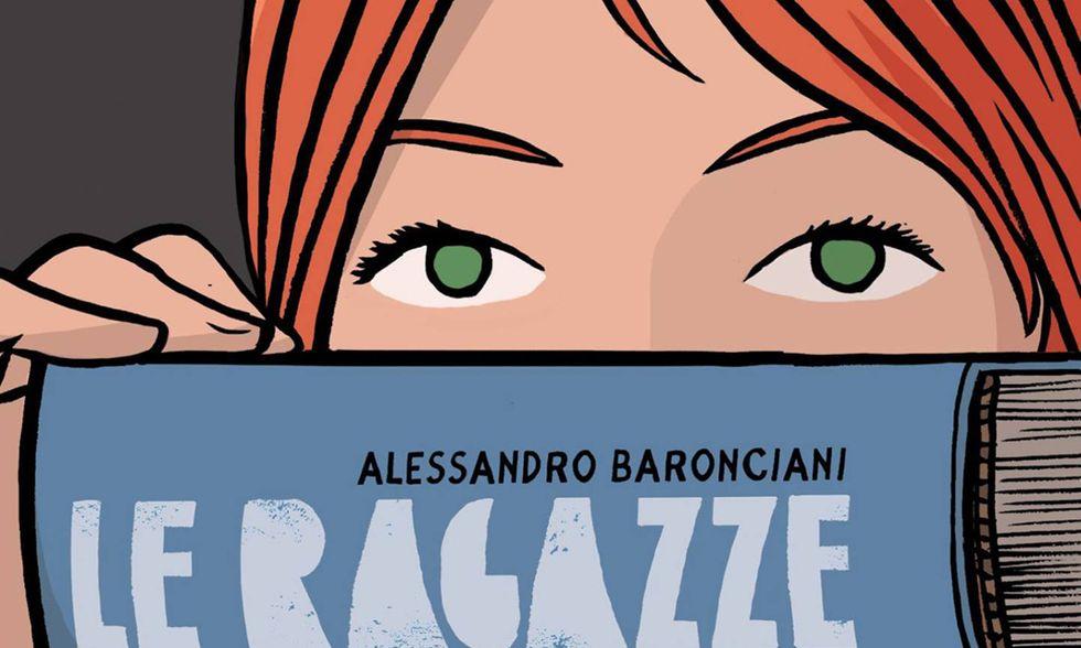 'Le ragazze nello studio di Munari' di Alessandro Baronciani