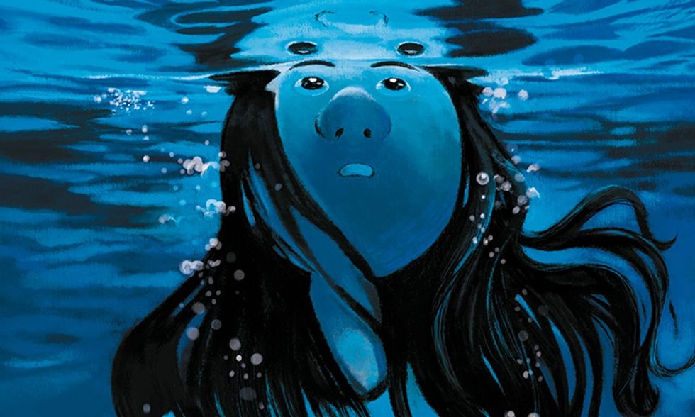 'La memoria dell'acqua': la favola a fumetti che ha stregato Lucca Comics 2013