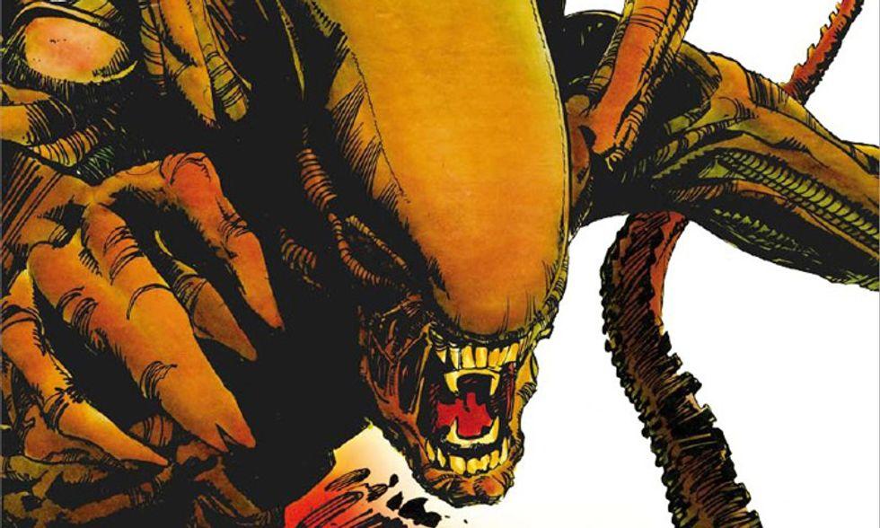 'Alien. La storia illustrata' a fumetti