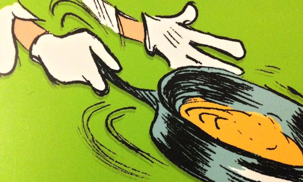 'In cucina con Alain Passard', le ricette dello chef e i fumetti di Cristophe Blain
