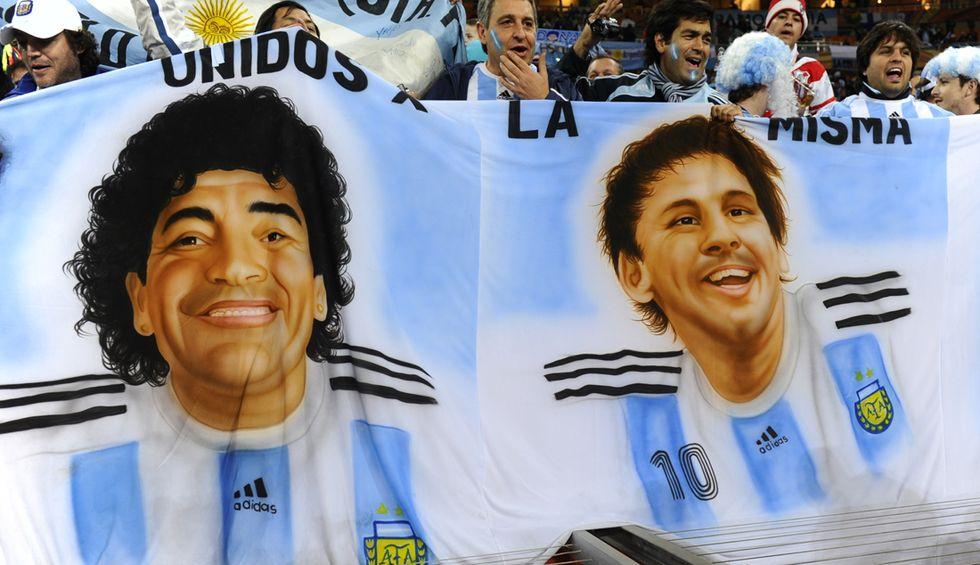 I numeri di Messi e quel colpo di Maradona
