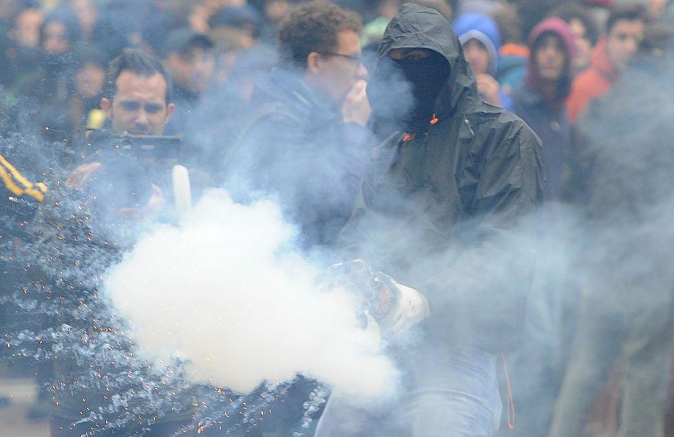 Dal G8 a C.so Magenta, la Polizia, i Black Bloc