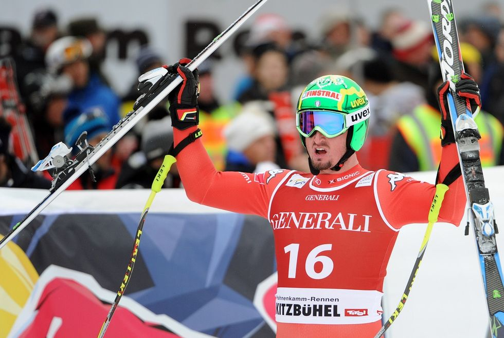 Sci, Dominik Paris trionfa nel SuperG a Kitzbuehel