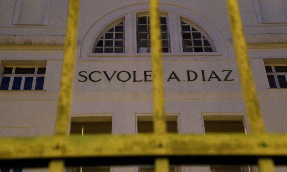 G8 Genova, scuola Diaz