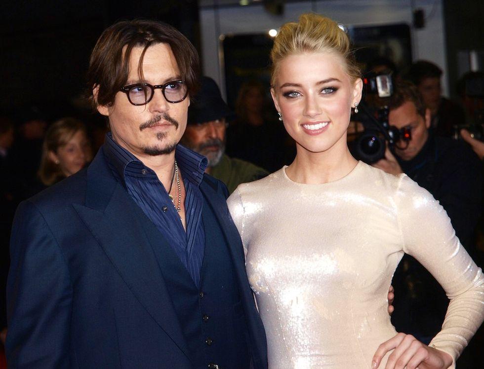 Johnny Depp e Amber Heard: secondo matrimonio alle Bahamas