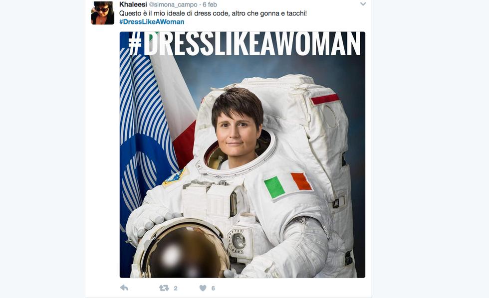 #DressLikeAWoman, la rivolta social contro il sessismo di Trump