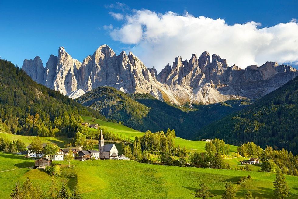 Dolomites and Marche are Italian property hotspots for 2015