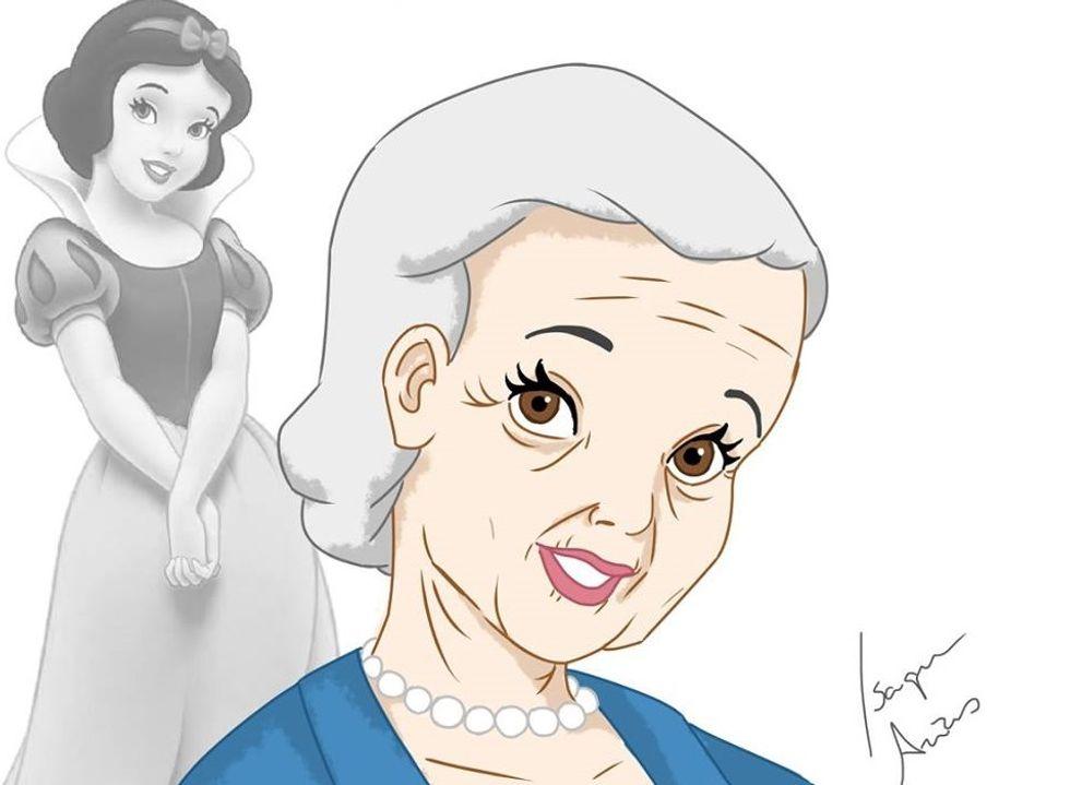 Anche le Principesse Disney invecchiano (bene)