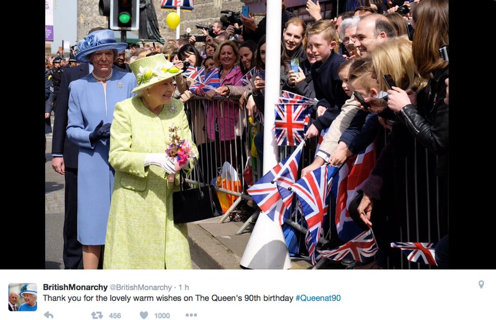 Elisabetta II, i festeggiamenti a Windsor