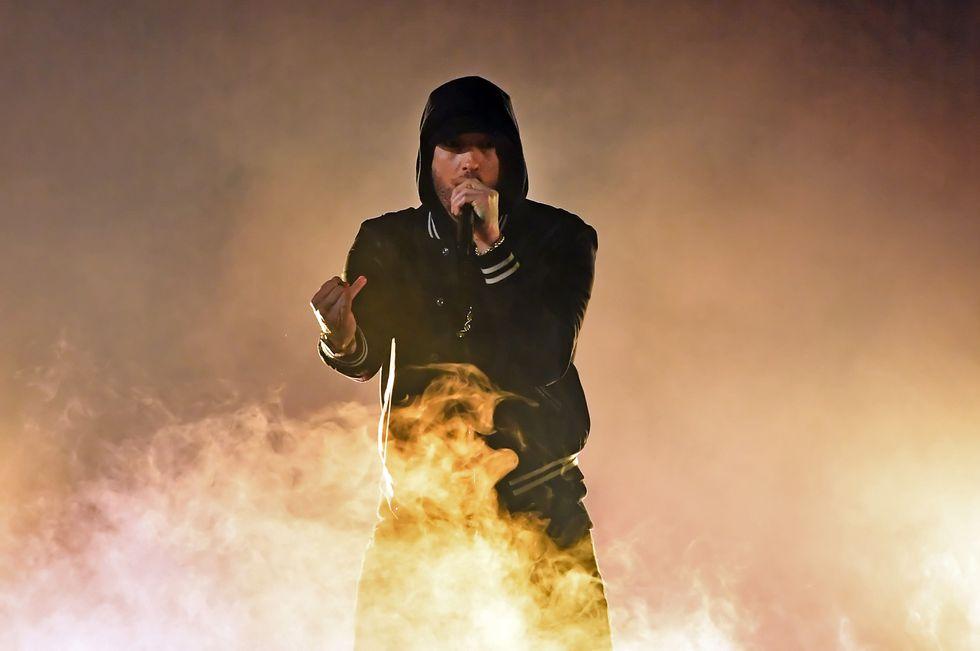 Eminem: la scaletta del trionfale concerto a Milano